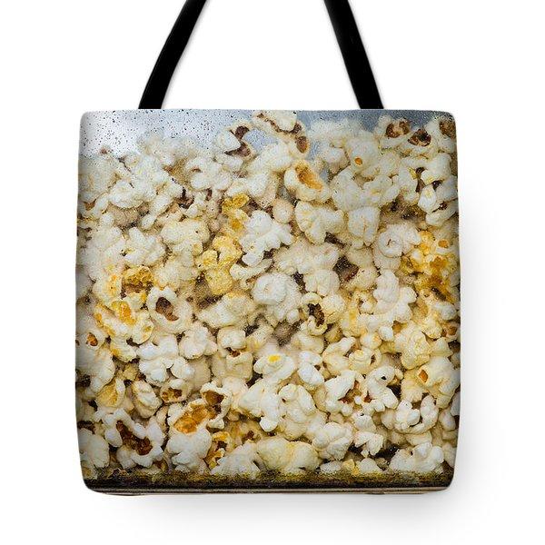 Popcorn 2 - Featured 3 Tote Bag by Alexander Senin