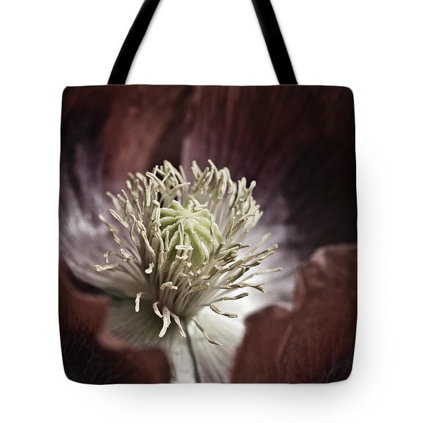 Poppy Tote Bag by Frank Tschakert