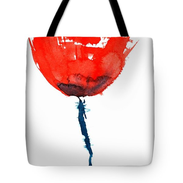 Poppy Tote Bag by Zaira Dzhaubaeva