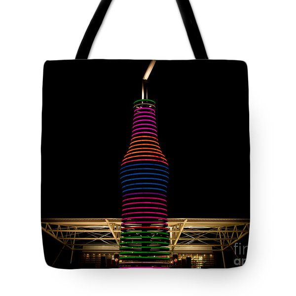 Pop's On Route 66 Tote Bag by Robert Frederick