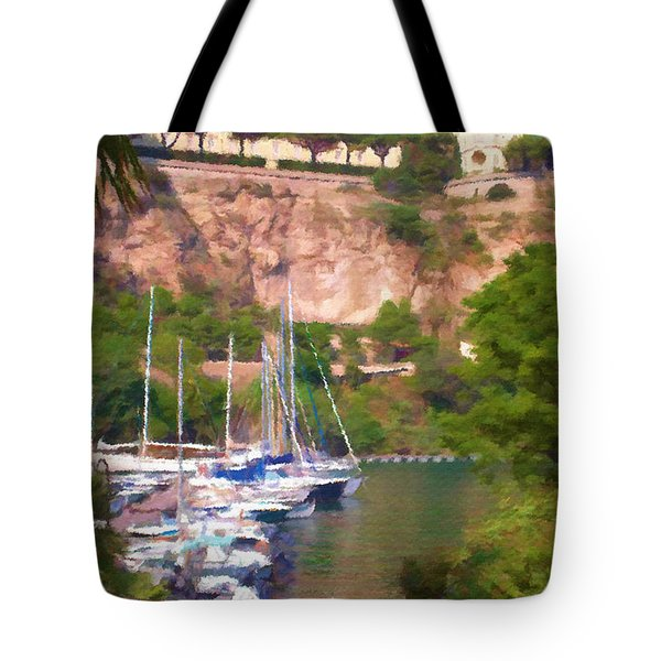 Port And Palace Tote Bag by Jeff Kolker