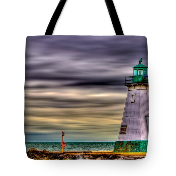 Port Dalhousie Lighthouse Tote Bag by Jerry Fornarotto