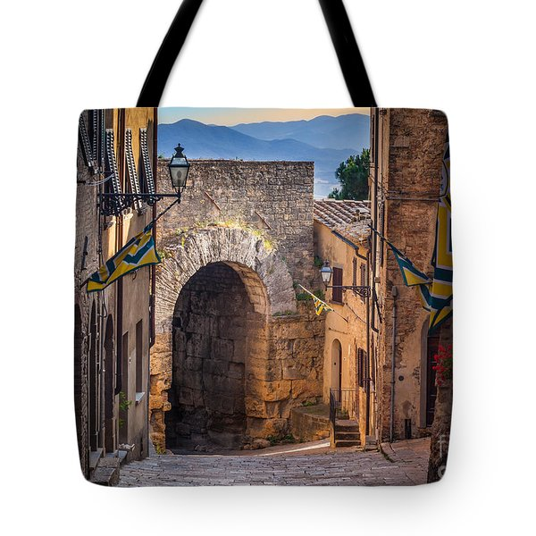 Porta Dell'arco Tote Bag by Inge Johnsson