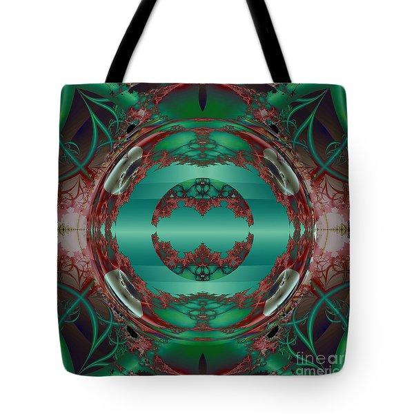 Portal / Escape Hatch  Tote Bag by Elizabeth McTaggart