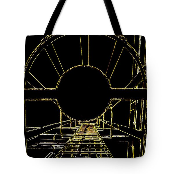 Portal Tote Bag by Guy Pettingell