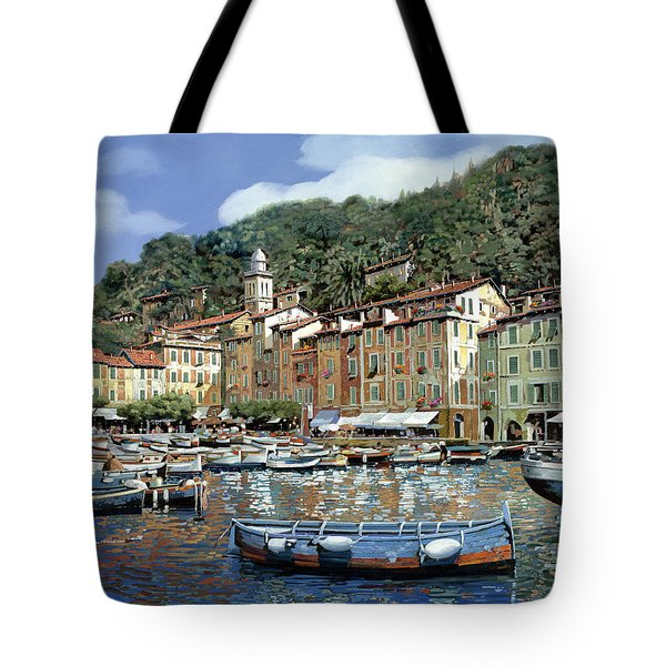 Portofino Tote Bag by Guido Borelli