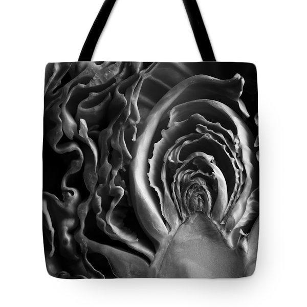 Portrait Of A Cabbage II Tote Bag by Caitlyn  Grasso