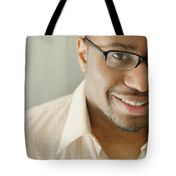 Portrait Of A Man Tote Bag by Darren Greenwood