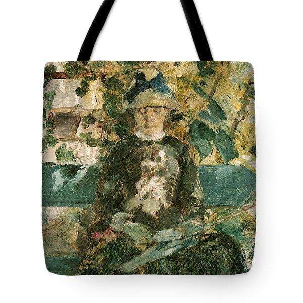 Portrait Of Adele Tapie De Celeyran Tote Bag by Henri de Toulouse-Lautrec