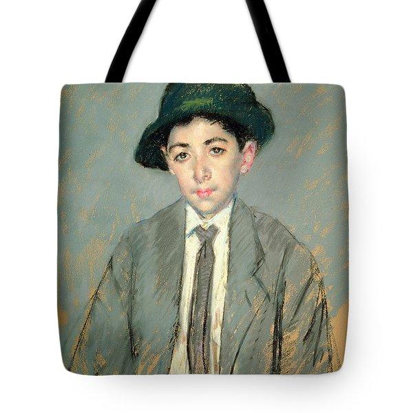 Portrait Of Charles Dikran Kelekian Tote Bag by Mary Stevenson Cassatt