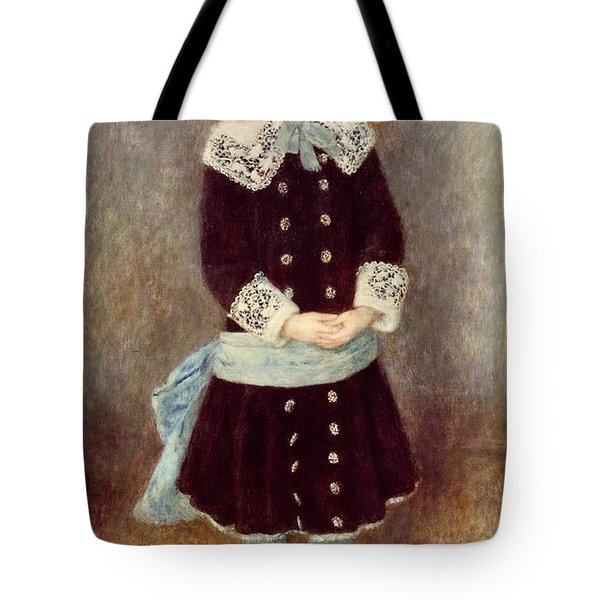 Portrait Of Martha Berard Tote Bag by Pierre-Auguste Renoir