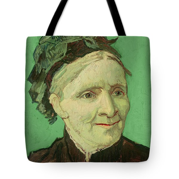 Portrait Of The Artist's Mother Tote Bag by Vincent van Gogh