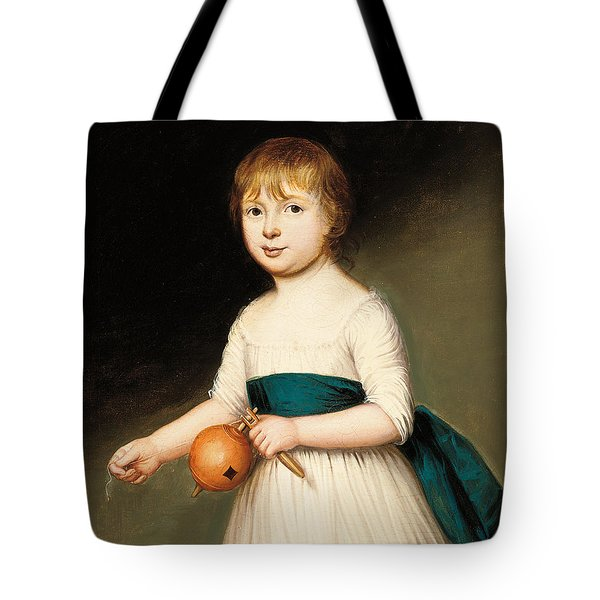 Portrait Of Thomas Allason Tote Bag by Francis Alleyne