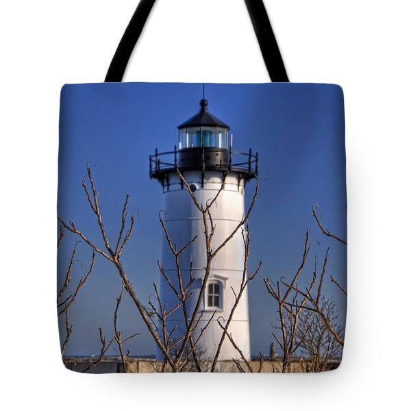 Portsmouth Harbor Light 3 Tote Bag by Joann Vitali