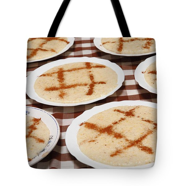 Portuguese Food Tote Bag by Gaspar Avila