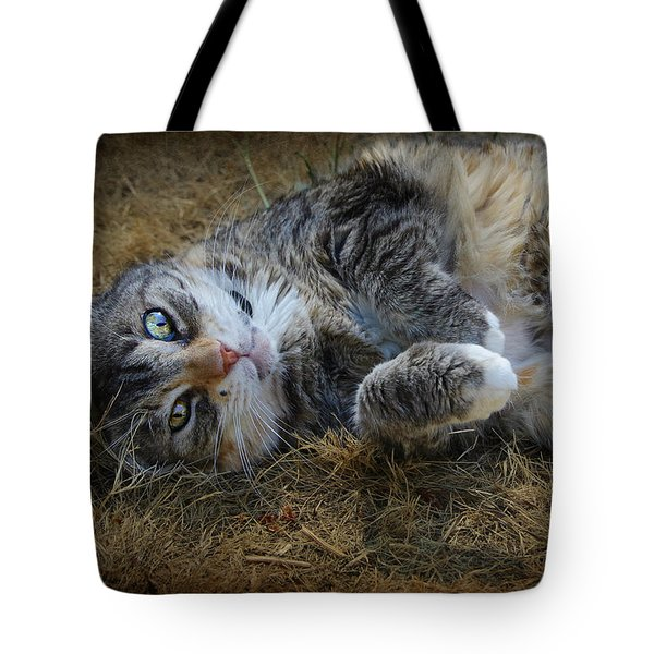Posing Prettily Tote Bag by Marilyn Wilson