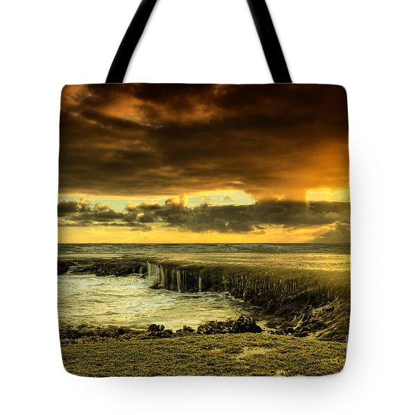 Positive Reinforcement Tote Bag by Andrew Paranavitana