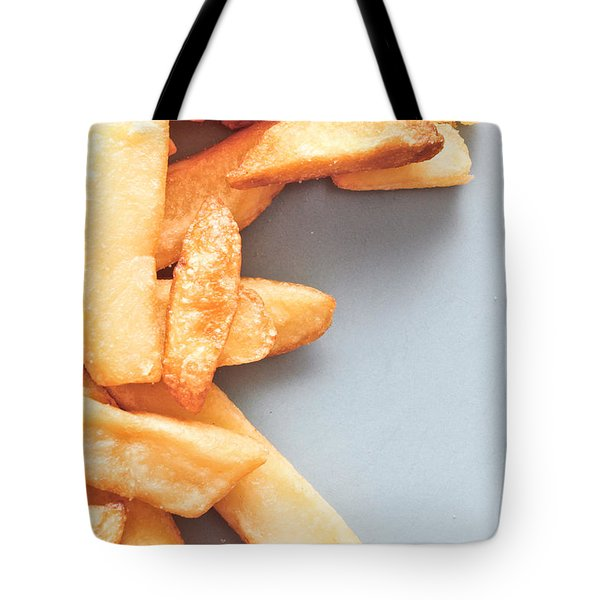 Potato Chips Tote Bag by Tom Gowanlock