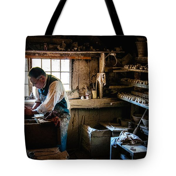 Potters Shed Tote Bag by Scott Thorp