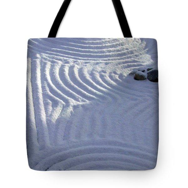 Powder In Zen Two Tote Bag by Feile Case