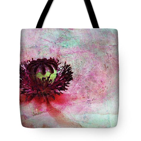 Power Of Poppy Tote Bag by Claudia Moeckel