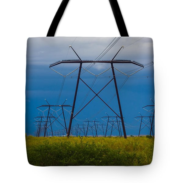 Power Towers Tote Bag by Ed Gleichman