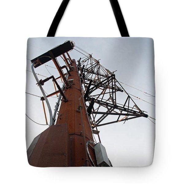 Power Up Tote Bag by Minnie Lippiatt