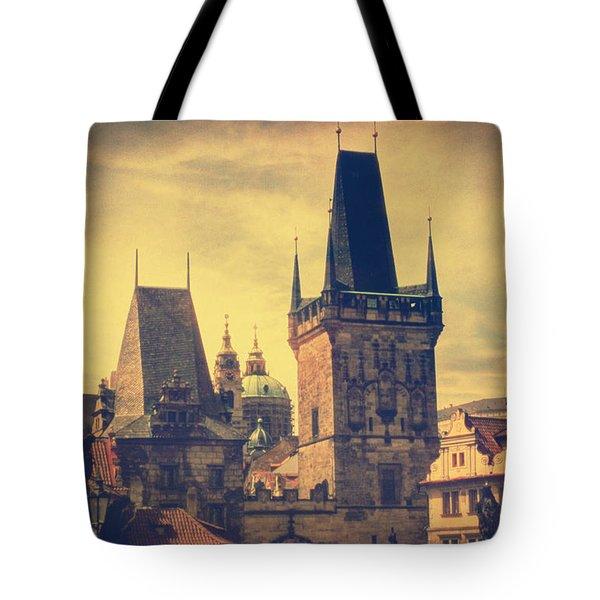 Praha Tote Bag by Taylan Soyturk