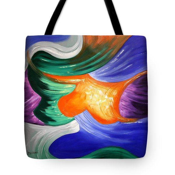 Praise The Lord Tote Bag by Anthony Falbo