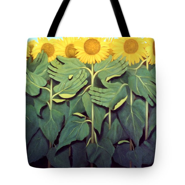 Praise The Son Tote Bag by Anthony Falbo