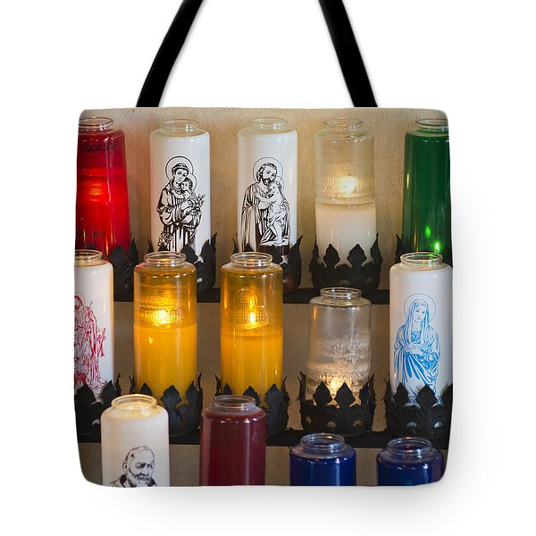 Prayers To God Tote Bag by Kenneth Albin