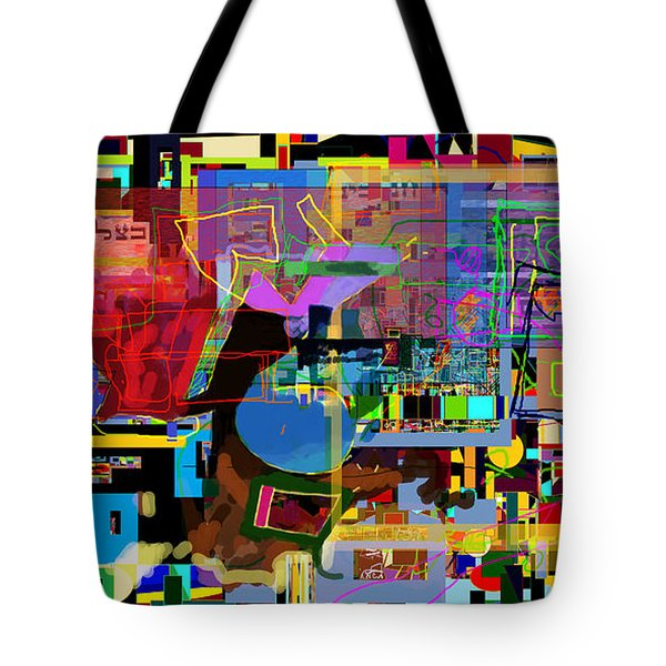 precious is man for he is created in the Divine Image 9 Tote Bag by David Baruch Wolk
