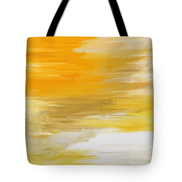 Precious Metals Abstract Tote Bag by Andee Design
