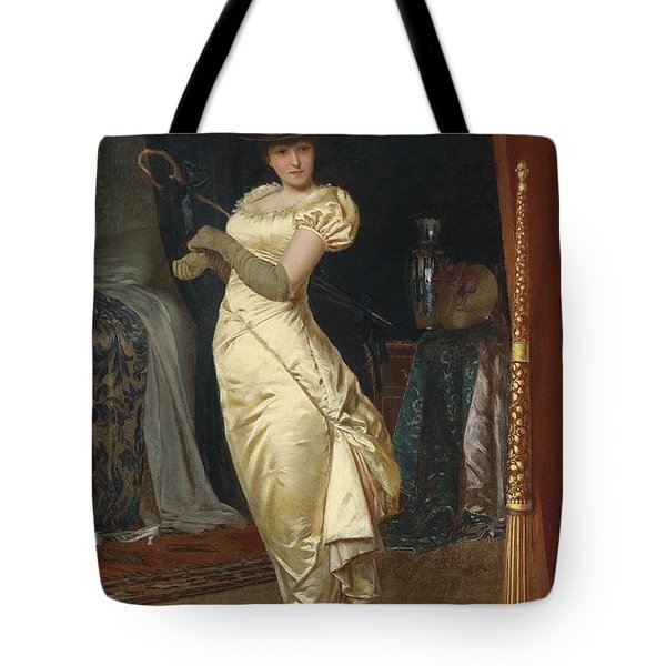 Preparing For The Ball Tote Bag by Frederick Soulacroix