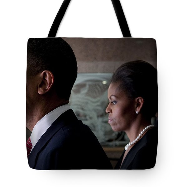 President and Mrs Obama Tote Bag by Mountain Dreams