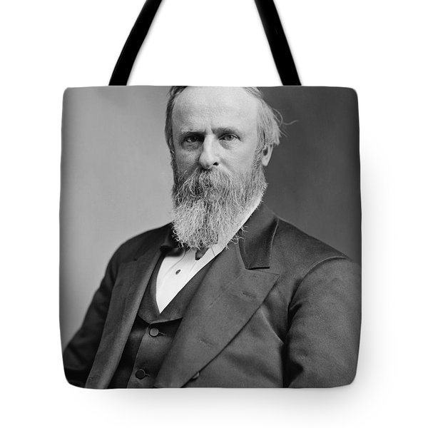 President Rutherford Hayes Tote Bag by War Is Hell Store