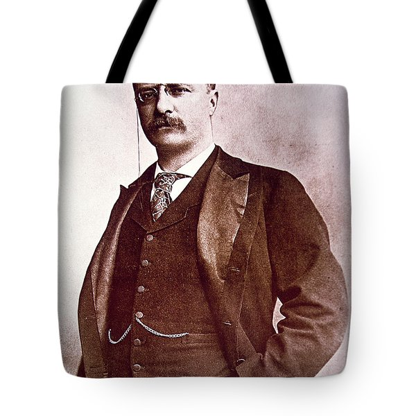 President Theodore Roosevelt Tote Bag by American School