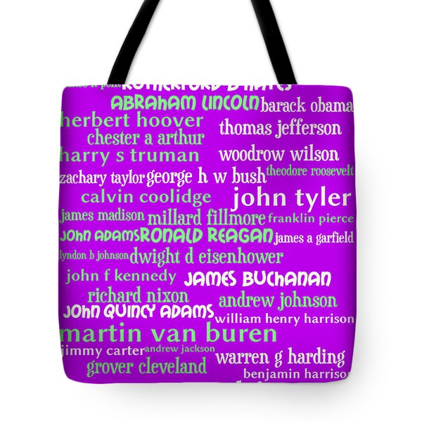 Presidents of The United States 20130625p60 Tote Bag by Wingsdomain Art and Photography