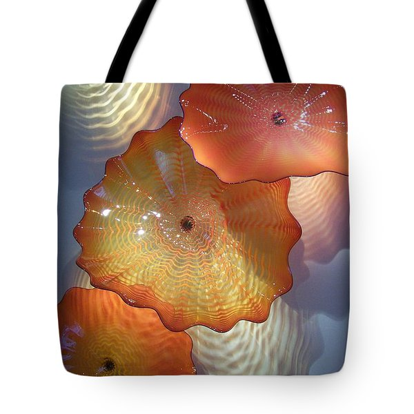 Pretty Glass Tote Bag by Eunice Miller