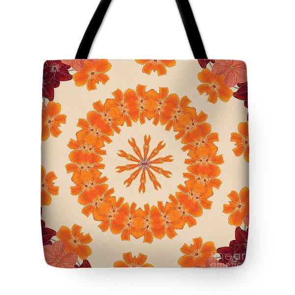 Pretty In Orange Tote Bag by Lena Photo Art