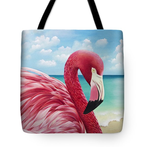 Pretty In Pink Tote Bag by Carolyn Steele