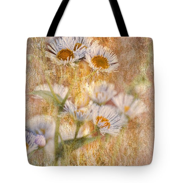 Pretty Little Weeds IIi Tote Bag by Debbie Portwood