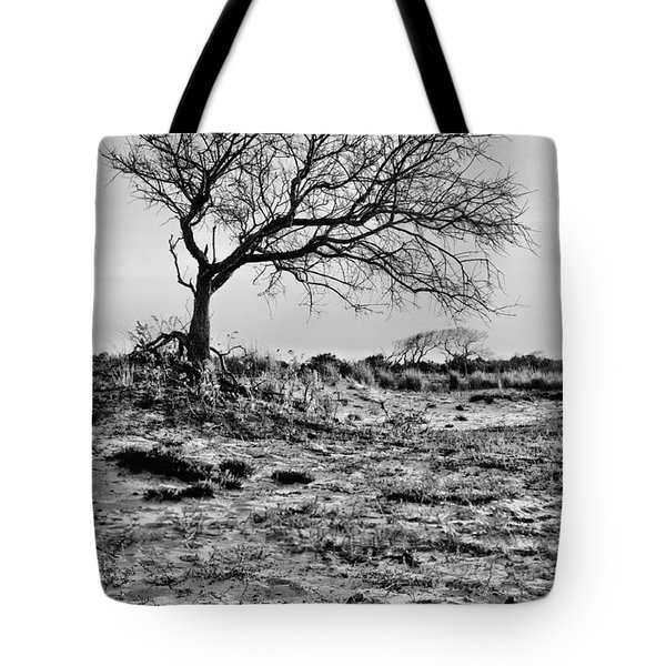 Prevailing BW Tote Bag by JC Findley