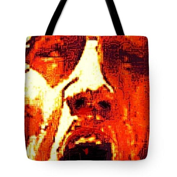 Primal Tote Bag by Larry E Lamb