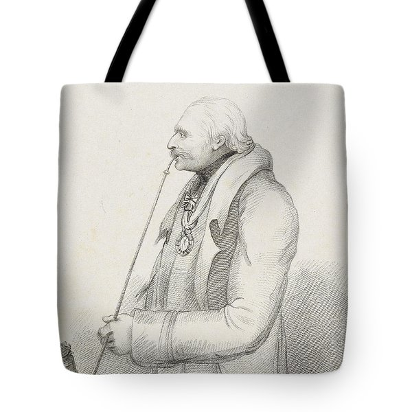 Prince Blucher Tote Bag by Samuel Freeman