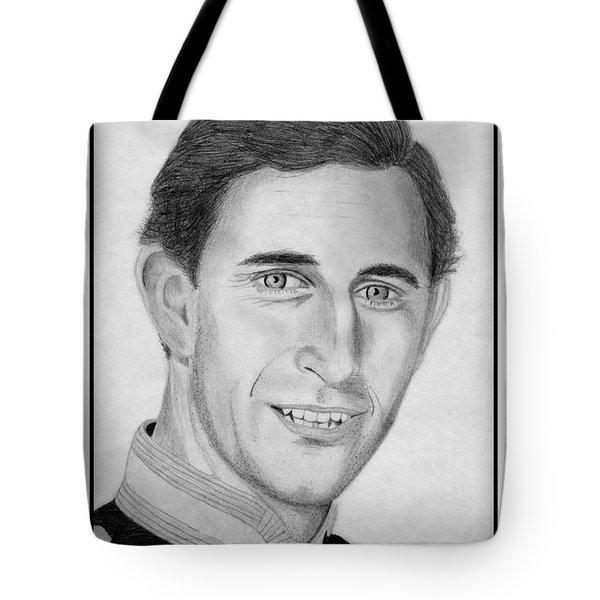 Prince Charles in 1981 Tote Bag by J McCombie