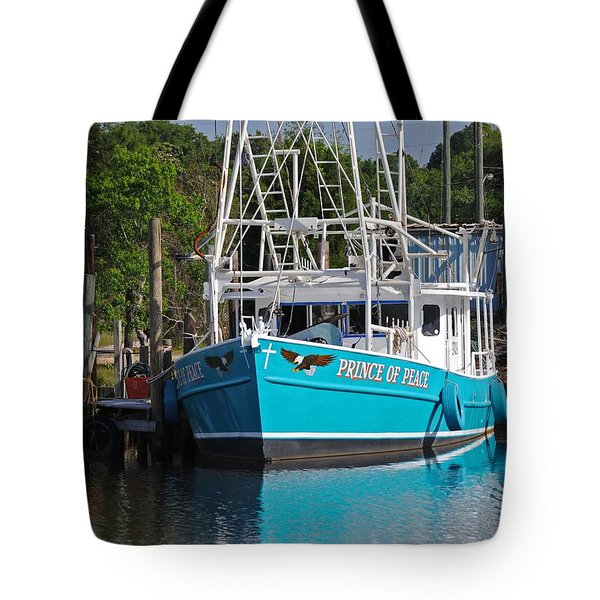 Prince Of Peace Tote Bag by Michael Thomas