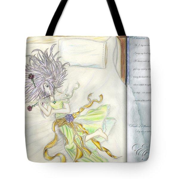 Princess Altiana Aka Rokeisha Tote Bag by Shawn Dall