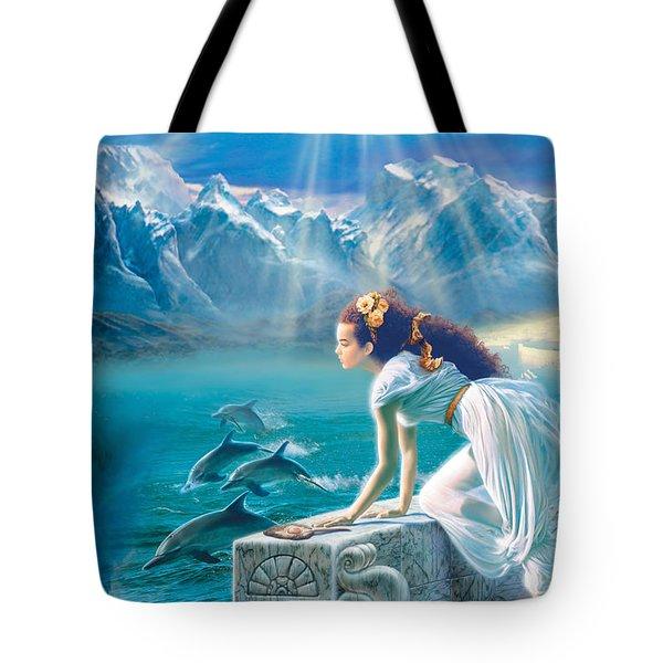Princess Tote Bag by Andrew Farley