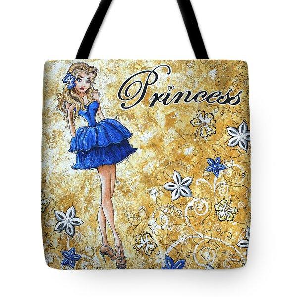 PRINCESS by MADART Tote Bag by Megan Duncanson